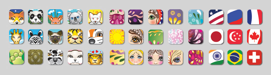 Themed-images-for-an-iPhone-app-4