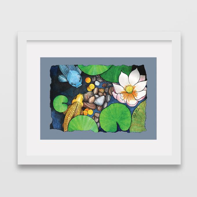 two-koi-and-lotus