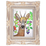 Deer-and-berries-7