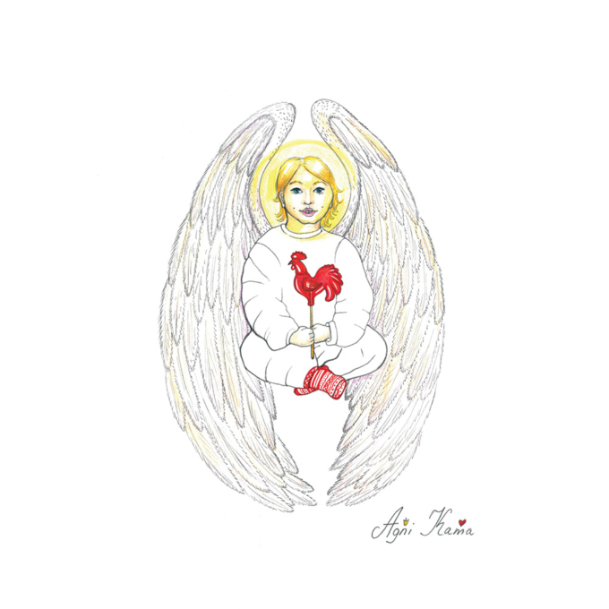 Angel-with-Sugar-Rooster-2