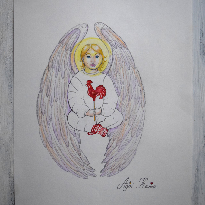 Angel-with-Sugar-Rooster-1